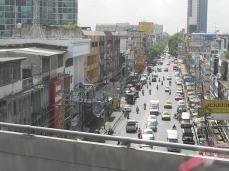 Street scene from the skytrain