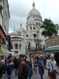 Montmartre is really close