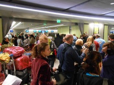 Just a few at the Air Lingus checkin