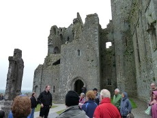The cathedral at Rock of Cashel