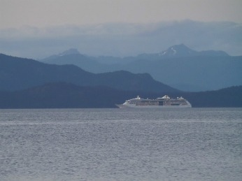 Another cruise ship heading to Alaska