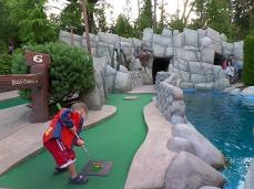 The mini-golf champ