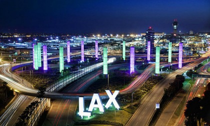 LA International airport - the real thing