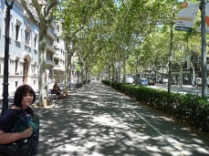 Barcelona is like Paris - but with more trees