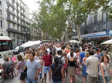 A short stroll around La Rambla