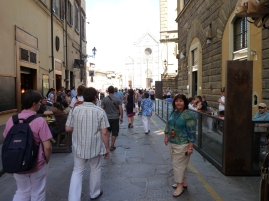 We're in Florence!