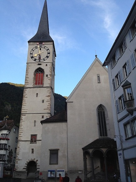 We arrive in Chur to find - more bells!