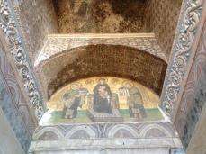 Christian frescos from the Roman era