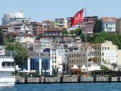Istanbul spans both banks