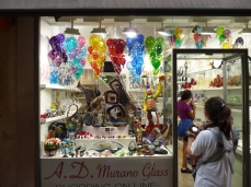 Maybe we could buy some Murano glass - er, no
