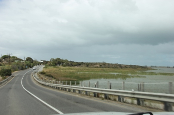 On the way to Goolwa