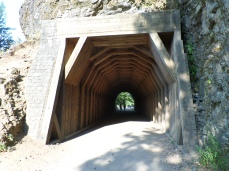 No idea why they made this amazing wooden tunnel