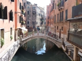 One of the back canals in Venice