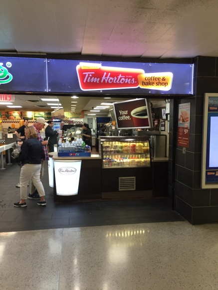How civilised. Penn Station has a Tim Hortons