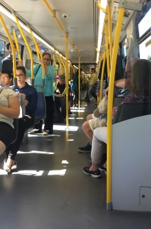 Not everyone has the same SkyTrain experience