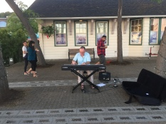 Another piano player - but busking this time