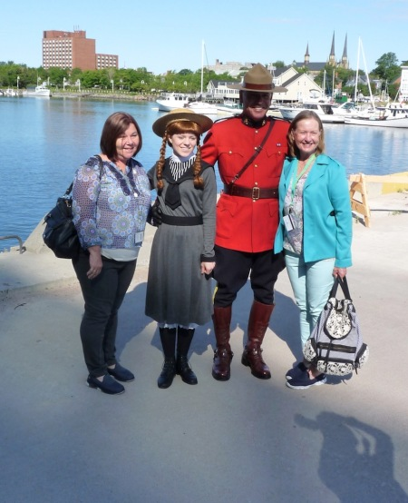 We suspect this isn't the real Anne, or a real Mountie