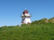 One of the iconic lighthouses