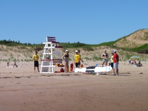 PEI's finest lifesaving team son't have much to do unless an orca comes in close