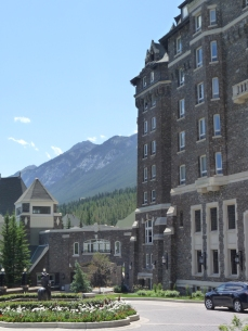 No rooms for us at Banff Springs Hotel
