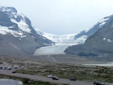 We want to walk on the glacier