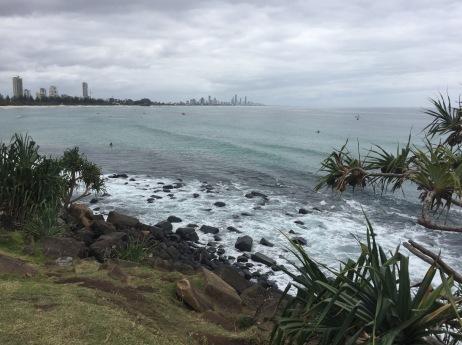 Surfers seems a world away