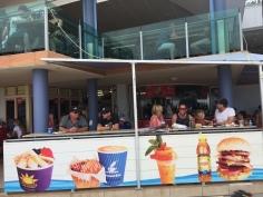 Typical Australian beach cafe